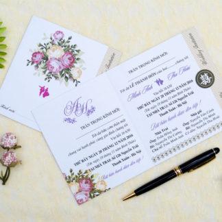 Thiệp cưới thông dụng